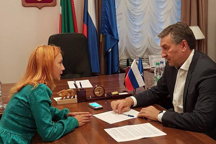 4 октября 2017 г. Айрат Фаррахов будет проводить приём населения в г. Казань