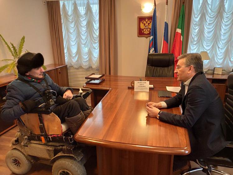 Айрат Фаррахов провел личный прием граждан