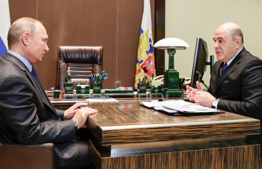 Путин предложил кандидатуру Мишустина на должность премьера